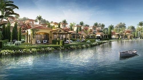 Phối cảnh dòng biệt thự Lagoon tại NovaBeach Cam Ranh Resort & Villas.