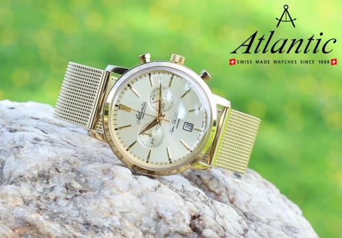 Lịch lãm và đẳng cấp với đồng hồ Thụy Sỹ Atlantic (xin bài edit) - 2