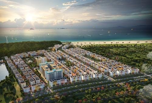 Tập đoàn Sun Group - một trong những nhà phát triển bất động sản hàng đầu cả nước - xây dựng khu đô thị hiện đại tại Phú Quốc.