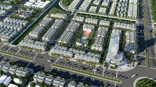Phối cảnh phân khu đất nền dự án Melody City nhìn từ trên cao Melody City bổ sung nguồn cung biệt thự đầu tư cho Đà Nẵng Melody City bổ sung nguồn cung biệt thự đầu tư cho Đà Nẵng melody1 7287 1565062661