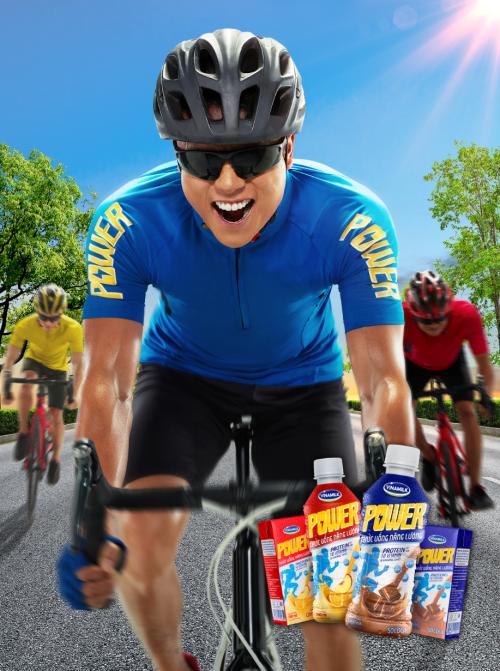 Thức uống năng lượng Vinamilk Power cung cấp protein và nhiều vitamin, khoáng chất cần thiết.