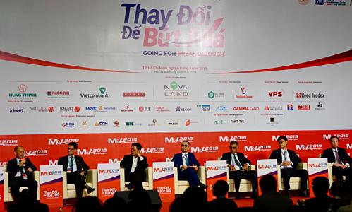 Các chuyên gia tại phiên thảo luận về các cơ hội bứt phá cho M&A tại Việt Nam. Ảnh: Viễn Thông