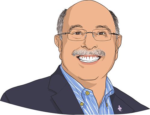 Dennis Najjar - Nhà đồng sáng lập Accounting Department. Ảnh đồ họa: CNBC
