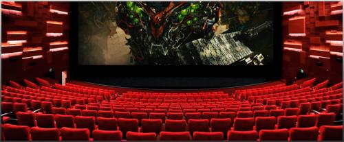 Phối cảnh rạp chiếu phim, trong nhà chuẩn quốc tế dự án.
