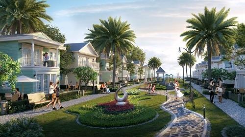 Second home với mức giá vừa tầm, đáp ứng nhu cầu nghỉ dưỡng và đầu tư cho thuê đang là xu hướng được ưa chuộng. Ảnh phối cảnh second home NovaWorld Phan Thiết.