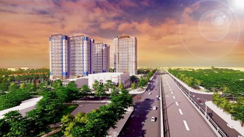 Bình Dương xuất hiện nhiều dự án chung cư cao tầng.