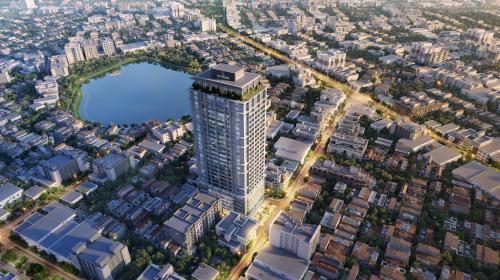 Thị trường Hà Nội đang thiếu hụt căn hộ cao cấp.