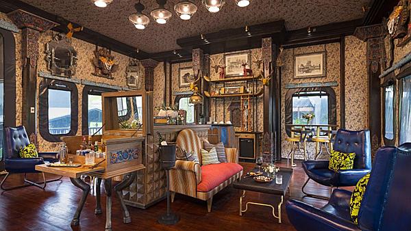 Phong cách thiết kế sáng tạo của Bill Bensley tại một trong những khu nghỉ dưỡng danh tiếng nhất thế giới.