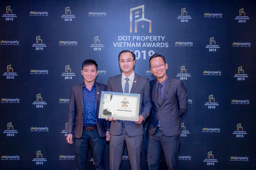 LinkHouse đạt giải Best Innovation and Technology Vietnam 2019 của Dot Property Vietnam Awards 2019