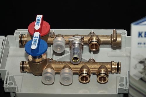 Mô hình lắp đặt hệ thống khớp nối Kelox Protec.