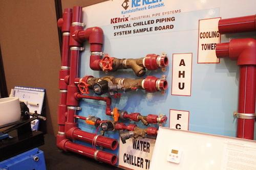 Mẫu lắp đặt hệ thống ống dẫn Ke