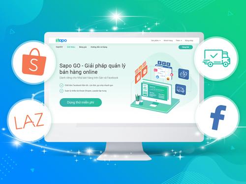 Sapo ra mắt giải pháp quản lý bán hàng trên sàn thương mại điện tử, Facebook
