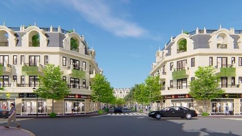 Phối ảnh một góc dự án Thành phố sinh thái 5 Sao - Five Star Eco City.