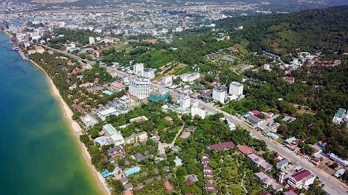 Toàn cảnh Phú Quốc từ trên cao.  - 23-8-201952-w500-2591-1566554640 - Tiềm năng đầu tư dự án khu đô thị tại Phú Quốc của Sun Group