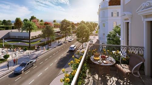 Ra mắt dãy shophouse đẹp nhất Sun Plaza Grand World Hạ Long - ảnh 2
