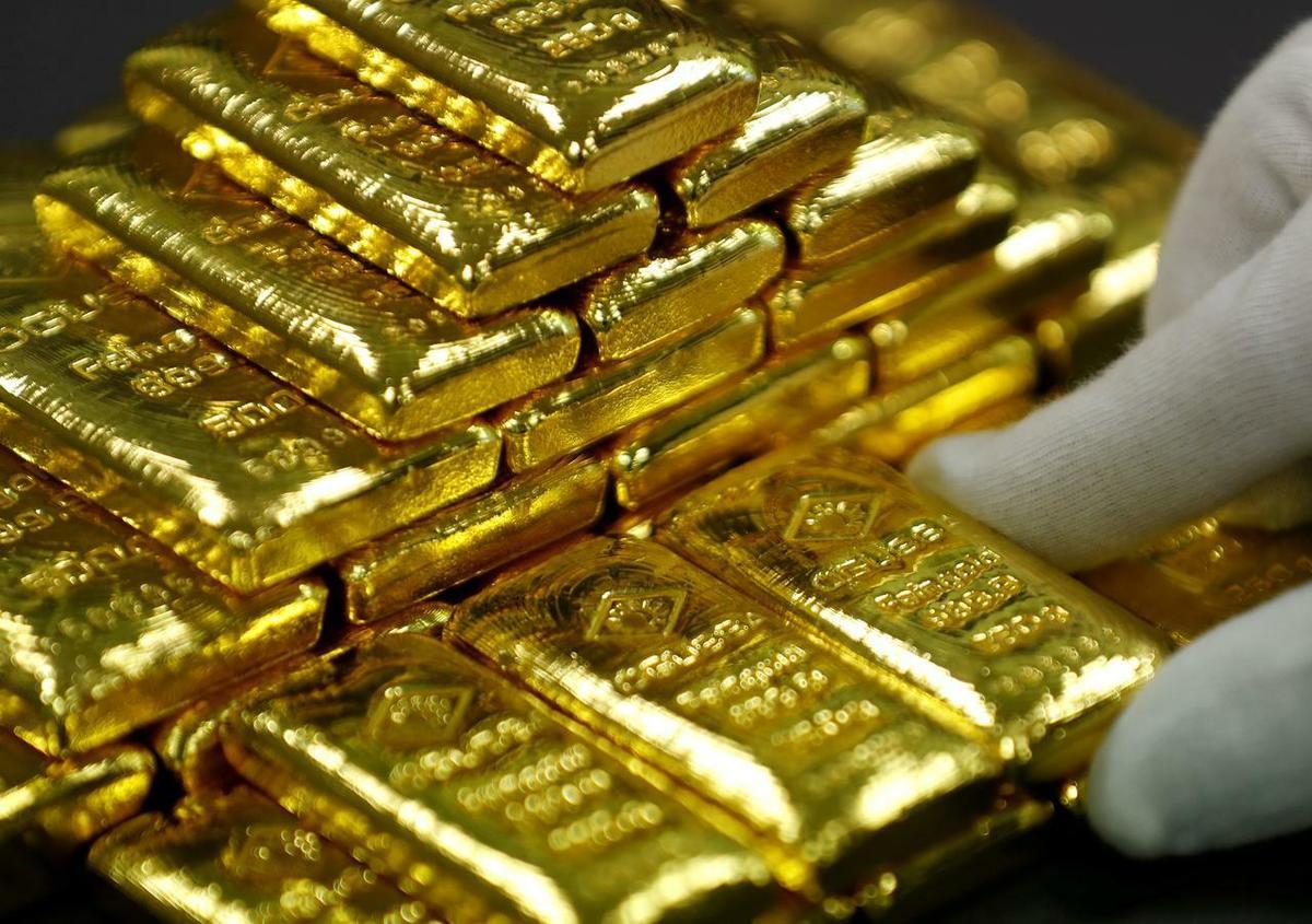 Giá vàng lên đỉnh 6 năm - VnExpress Kinh Doanh