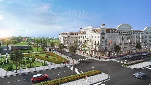 Tiểu khu LOpera nằm bên cạnh quảng trường Sun Carnival Plaza