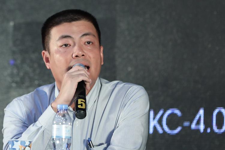 Ông Ngô Diên Hy phát biểu tại sự kiện AI4VN ngày 15/8.