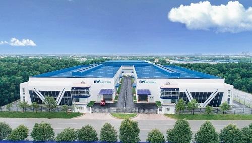 Nhà xưởng cho thuê chất lượng cao của Công ty cổ phần phát triển công nghiệp BW tại KCN Mỹ Phước 3.