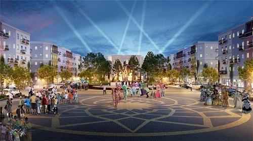 Không gian quảng trường tại Sun Group sắp trình làng khu đô thị đảo đầu tiên tại Phú Quốc Sun Group sắp trình làng khu đô thị đảo đầu tiên tại Phú Quốc Anh 2 Sun Grand City New An Th 9265 4098 1567583404