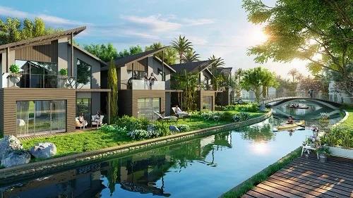 Phối cảnh dự án Novaworld Hồ Tràm với dòng sản phẩm second home hướng đến người mua là các hộ gia đình muốn có cuộc sống nghỉ dưỡng phù hợp.
