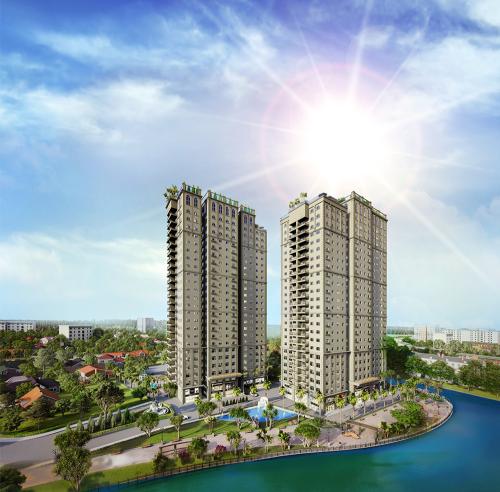 Paris Hoàng Kim nằm cạnh sông Sài Gòn, sở hữu không khí trong lành ven sông và cảnh quan sinh thái của khu đô thị mới Thủ Thiêm.