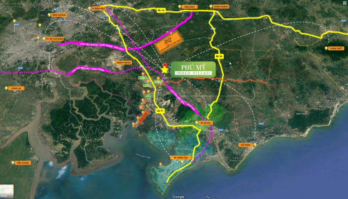Khu biệt thự Phú Mỹ Gold Villas nằm tại trục đường song hành cao tốc Long Thành - Dầu Giây, kết nối dễ dàng tới các trung tâm thành phố lớn.