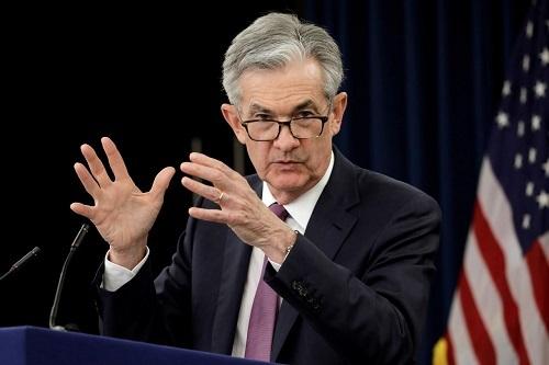 Chủ tịch Cục Dự trữ Liên bang Mỹ (Fed)Jerome Powell. Ảnh: Reuters