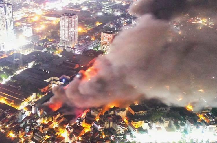 Rạng Đông bị giục công bố thiệt hại vụ cháy