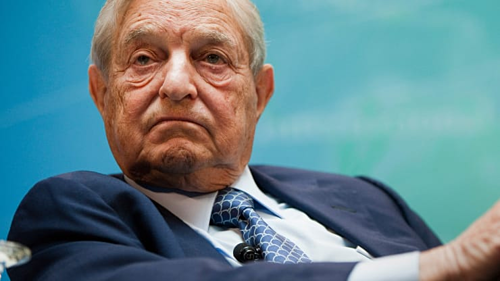 Tỷ phú đầu tư Mỹ George Soros. Ảnh: AFP