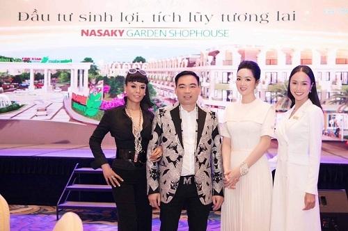 Đại diện Shophouse Nasaky Garden cùng khách mời tại sự kiện ra mắt.