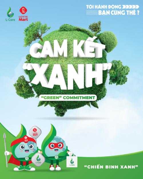 Lotte Mart giảm thiểu rác thải nhựa