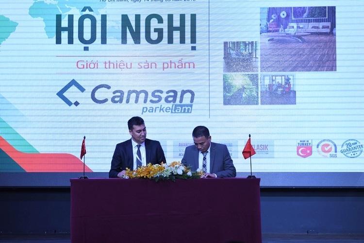 Wilson Group ra mắt thương hiệu ván sàn cao cấp Camsan