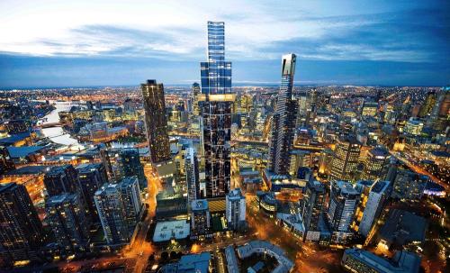Melbourne hội tụ nhiều dự án bất động sản.