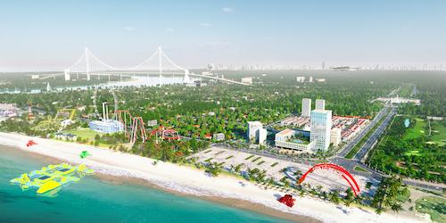Cua Lo Beach Villa, một trong những dự án tại khu vực biển Cửa Lò.