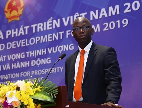 Ông Ousmane Dione, Giám đốc Quốc gia Ngân hàng Thế giới tại Việt Nam. Ảnh: Lê Tiên