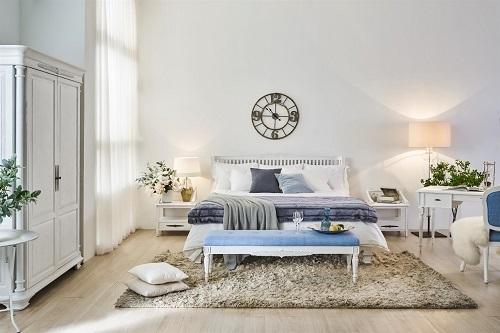 Mẫu nội thất phòng ngủ thuộc bộ sưu tập Victoria do Nhà Xinh phân phối. hướng đến sự trẻ trung, năng động, tạo cảm giác thoải mái cho người sử dụng.