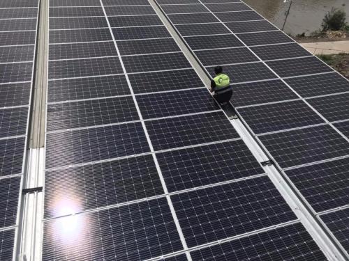 Lithaco thi công lắp đặt điện mặt trời Trang trại nuôi heo tại Tây Ninh