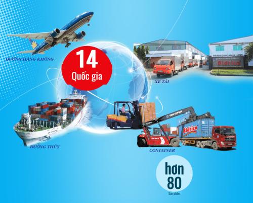 Các sản phẩm Bidrico được phân phối trong các kênh chính với hàng trăm đối tác toàn cầu ở 14 quốc gia.