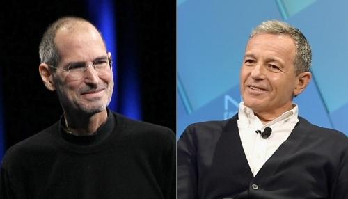 Neu Steve Jobs con song, Apple co the sap nhap voi Disney