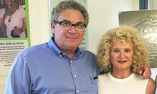 Robert Shapiro và vợ trong một sự kiện. Ảnh: Woodbridge