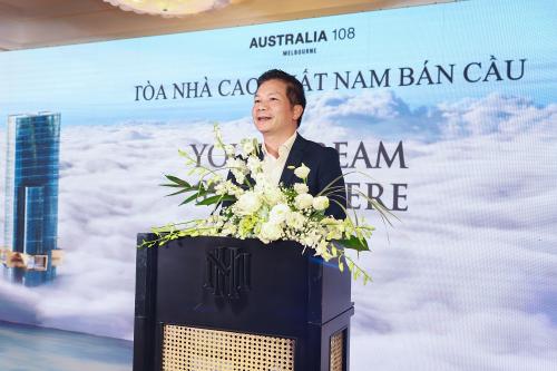 Ông Phạm Thanh Hưng, Phó Chủ tịch HĐQT Tập đoàn CenGroup nói về triển vọng đầu tư tại Australia.