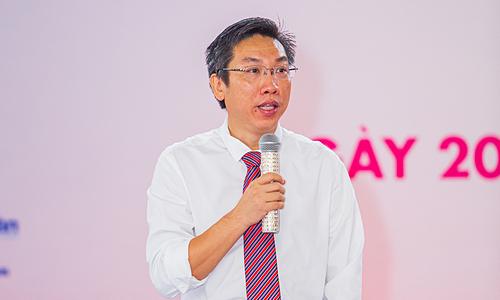 Ông Ngô Anh Tuấn - Chủ tịch Hội in TP HCM.