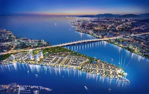 Phối cảnh tổng thể khu căn hộ sinh thái đẳng cấp Marine City  Lợi thế đầu tư tại khu đô thị cửa ngõ thành phố Vũng Tàu ff 8854 1569291388
