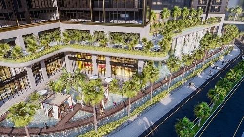 Mặt tiền dự án Sunshine City Sài Gòn.