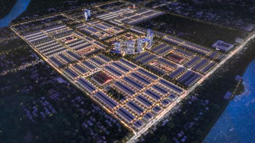 Phối cảnh dự án Stella Mega City.