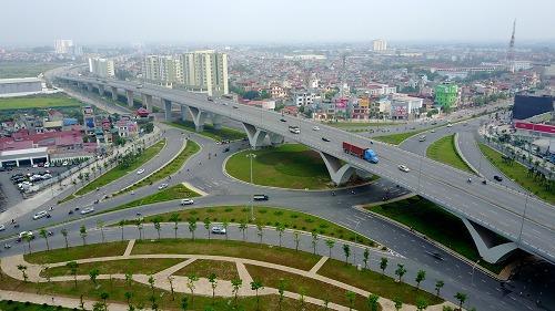 Khi hệ thống cầu đường dần được hoàn thiện, các khu vực lân cận trung tâm thu hút sự chú ý. Nguồn ảnh.