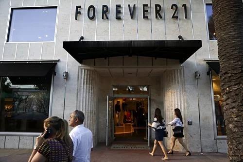 Một cửa hàng của Forever 21 tại Miami Beach. Ảnh: Bloomberg