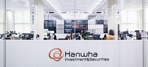 Trụ sở tập đoàn Hanwha tại Hàn Quốc.