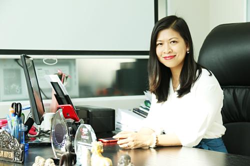 CEO Lương Nguyên - Nguyễn Thị Kim Huyền.